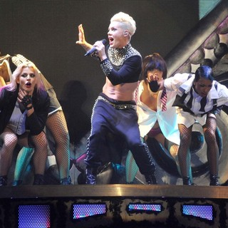 Pink Performing Live for The First Night of 2013 European Truth About Love Tour - pink-2013-european-truth-about-love-tour-20