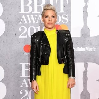 Pink in The Brit Awards 2019 - Arrivals