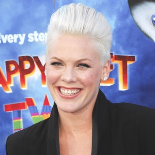 Pink - World Premiere of Happy Feet Two