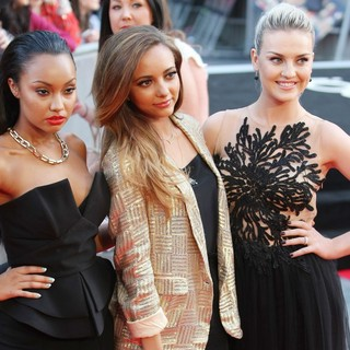 Leigh-Anne Pinnock, Jade Thirlwall, Perrie Edwards, Little Mix in World Premiere of One Direction: This Is Us - Arrivals
