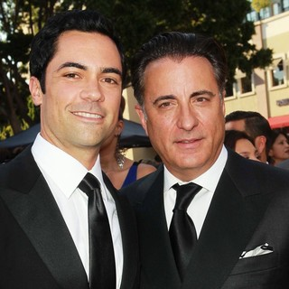 Danny Pino, Andy Garcia in 2012 NCLR ALMA Awards - Arrivals