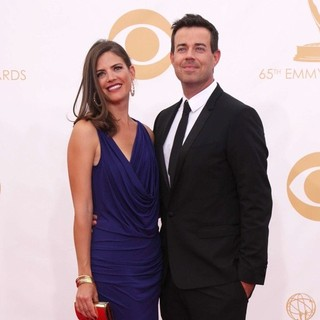 Siri Pinter, Carson Daly in 65th Annual Primetime Emmy Awards - Arrivals