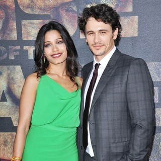 Freida Pinto, James Franco in The Premiere of 20th Century Fox's Rise of the Planet of the Apes - Arrivals