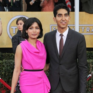 Freida Pinto, Dev Patel in 19th Annual Screen Actors Guild Awards - Arrivals