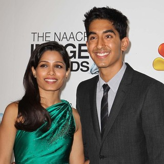 Freida Pinto, Dev Patel in The 44th NAACP Image Awards