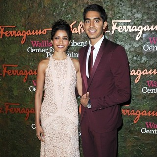 Freida Pinto, Dev Patel in Opening Night Gala of The Wallis Annenberg Center for The Performing Arts