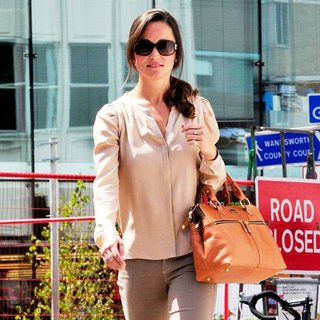 Pippa Middleton in Pippa Middleton Leaving The Putney Medical Centre