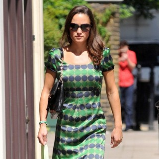 Pippa Middleton in Pippa Middleton Out and About in West London