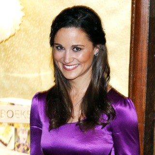 Pippa Middleton in Pippa Middleton Promoting Her Book Celebrate: A Year of Festivities for Family and Friends
