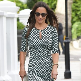 Pippa Middleton Takes Her Dog for A Walk in Chelsea