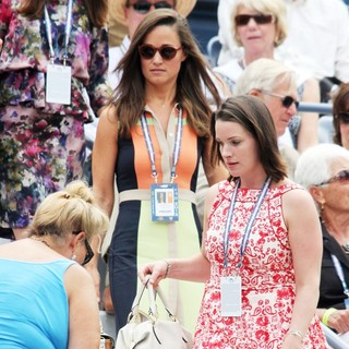 Pippa Middleton in US Open 2012 Women's Match - Celebrity Sighting