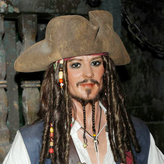 Johnny Depp in Madrid Wax Museum Unveils Their New Wax Figures of Johnny Depp and Penelope Cruz