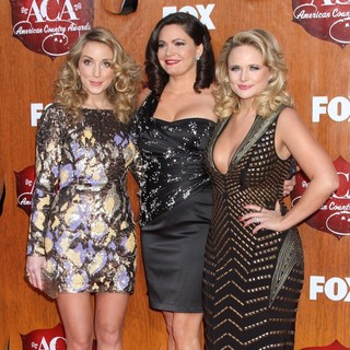Ashley Monroe, Angaleena Presley, Miranda Lambert, Pistol Annies in 2011 American Country Awards - Arrivals