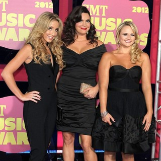 Ashley Monroe, Angaleena Presley, Miranda Lambert, Pistol Annies in 2012 CMT Music Awards
