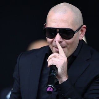 Pitbull in Barclaycard Wireless Festival 2012 - Day 3