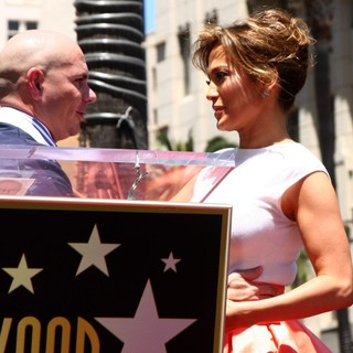 Jennifer Lopez - Jennifer Lopez Is Honoured with The 2,500th Star on The Hollywood Walk of Fame