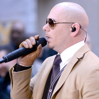 Pitbull Performs Live at The Today Show - pitbull-performs-live-today-show-12