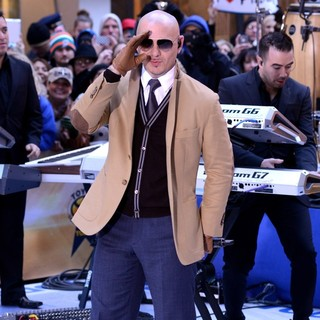Pitbull Performs Live at The Today Show - pitbull-performs-live-today-show-16
