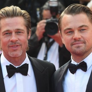 Brad Pitt, Leonardo DiCaprio in Once Upon a Time in Hollywood Premiere - The 72nd Cannes Film Festival
