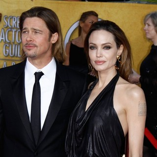 Brad Pitt, Angelina Jolie in The 18th Annual Screen Actors Guild Awards - Arrivals