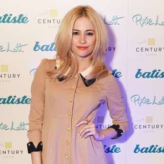 Pixie Lott in Pixie Lott Launches Batiste Dry Shampoo New Exclusive Spray Can