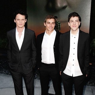 Anton Yelchin, Dave Franco, Christopher Mintz-Plasse in Fright Night Los Angeles Screening - Red Carpet