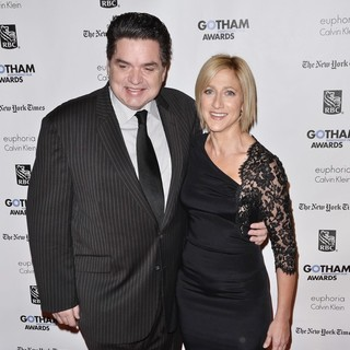 Oliver Platt, Edie Falco in Gotham Awards 2011 - Arrivals