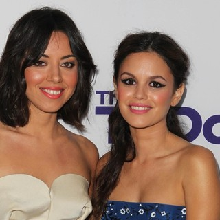 Aubrey Plaza, Rachel Bilson in Los Angeles Premiere of The To Do List
