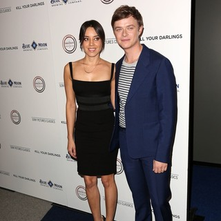 Aubrey Plaza, Dane DeHaan in Los Angeles Premiere of Kill Your Darlings