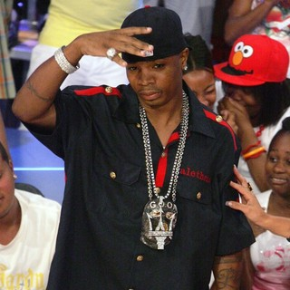 Plies on The Set of BET'S 106 and Park