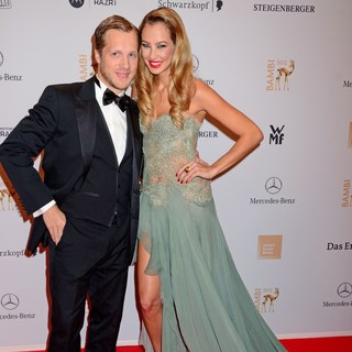 Oliver Pocher, Alessandra Pocher in Bambi Awards 2012