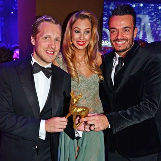 Oliver Pocher, Alessandra Pocher, Giovanni Zarrella in Bambi Awards 2012