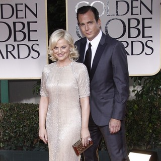 Amy Poehler, Will Arnett in The 69th Annual Golden Globe Awards - Arrivals