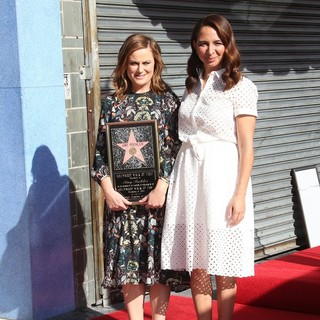 Amy Poehler Honored with A Star on The Hollywood Walk of Fame