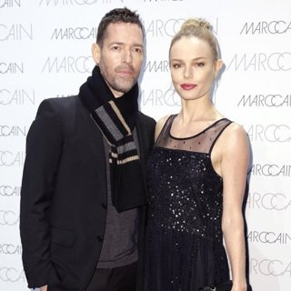 Michael Polish, Kate Bosworth-Marc Cain Fashion Show at The Mercedes-Benz Fashion Week 2017