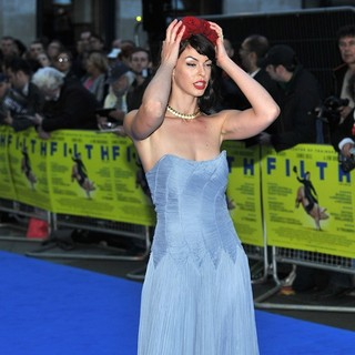 Pollyanna McIntosh in Filth UK Film Premiere - Arrivals