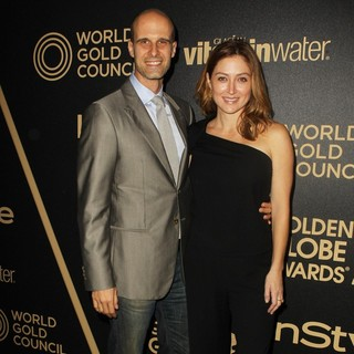 Eduardo Ponte, Sasha Alexander in Miss Golden Globe 2013 Party Hosted by The HFPA and InStyle