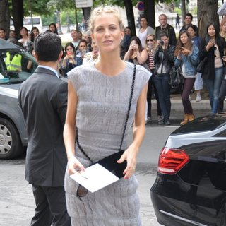 Poppy Delevingne in Paris Fashion Week Haute Couture Fall-Winter 2014-2015 - Chanel - Outside Arrivals
