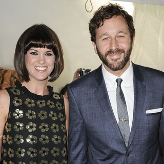 Dawn Porter, Chris O'Dowd in Glamour Women of The Year Awards 2013