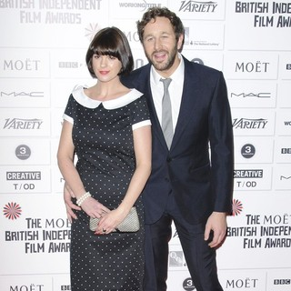 Dawn Porter, Chris O'Dowd in Moet British Independent Film Awards 2011