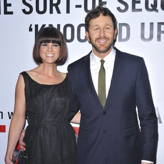 Dawn Porter, Chris O'Dowd in This Is 40 - Los Angeles Premiere - Arrivals