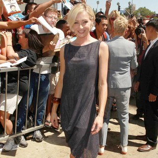 Portia de Rossi in Ellen DeGeneres Is Honored with A Star on The Hollywood Walk of Fame