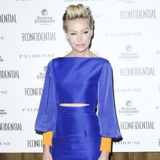 Portia de Rossi in Los Angeles Confidential Cover Party