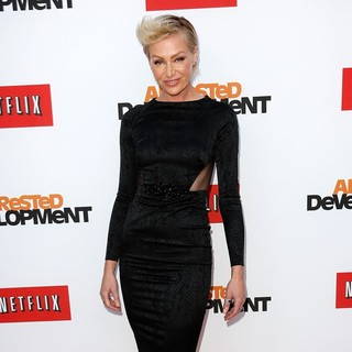 Portia de Rossi in Netflix's Los Angeles Premiere of Season 4 of Arrested Development