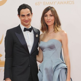 Zac Posen, Gia Coppola in 65th Annual Primetime Emmy Awards - Arrivals