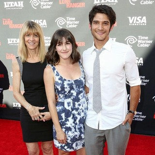 Seana Gorlick, Tyler Posey in The World Premiere of Disney-Jerry Bruckheimer Films' The Lone Ranger