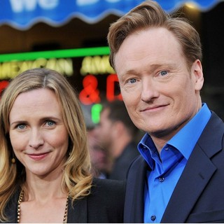 Conan O'Brien - Los Angeles Premiere of Super 8