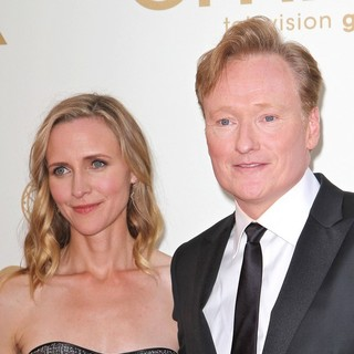 Conan O'Brien in The 63rd Primetime Emmy Awards - Arrivals - powel-o-brien-63rd-primetime-emmy-awards-01