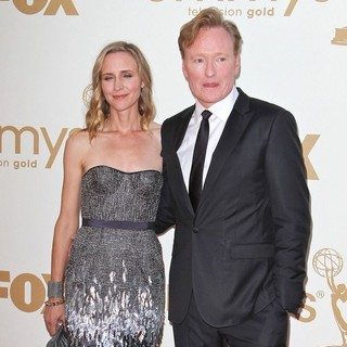 Conan O'Brien in The 63rd Primetime Emmy Awards - Arrivals - powel-o-brien-63rd-primetime-emmy-awards-04