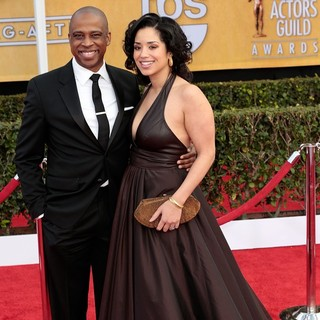 Keith Powell, Jill Knox in 19th Annual Screen Actors Guild Awards - Arrivals